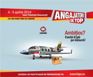 Angajatori de Top, eveniment Hipo.ro, 4-5 aprilie, București